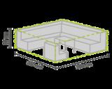 DistriCover Loungeset hoes 280x230x80 cm_