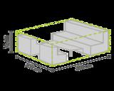 DistriCover Loungeset hoes 300x200x75 cm_