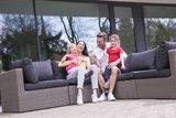 DistriCover Loungeset hoes L-vorm 300/90x300/90x70 cm_