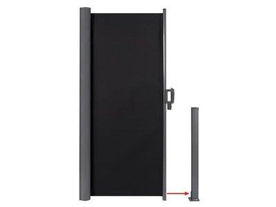 UITROLBAAR WIND- EN PRIVACYSCHERM - 160 x 300 cm