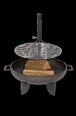 BBQ rooster voor vuurschaal, Ø40cm
