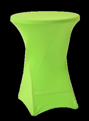 Easyfit statafelrok, stretch, lime Ø80cm