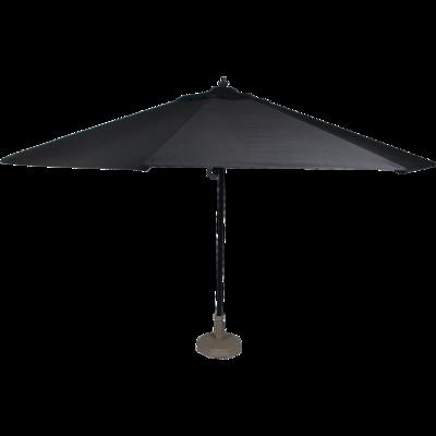 Parasol Virgo zwart Ø3,5mtr