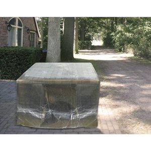 Beschermhoes tafel-bank; tafel of bank max 160 cm