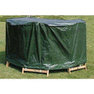 Beschermhoes tuinset ronde tafel max 150 cm met 4/6 stoelen